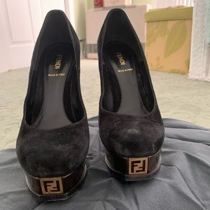 Fendi Platform Pumps